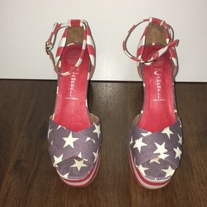 American Flag Jeffrey Campbell Shoes